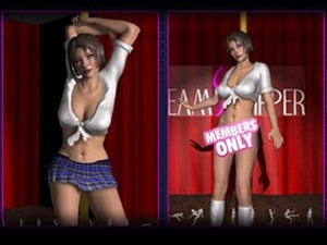 3D Virtual Strippers - XXX pole dancing