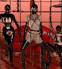 latex and leather fetish uniforms
